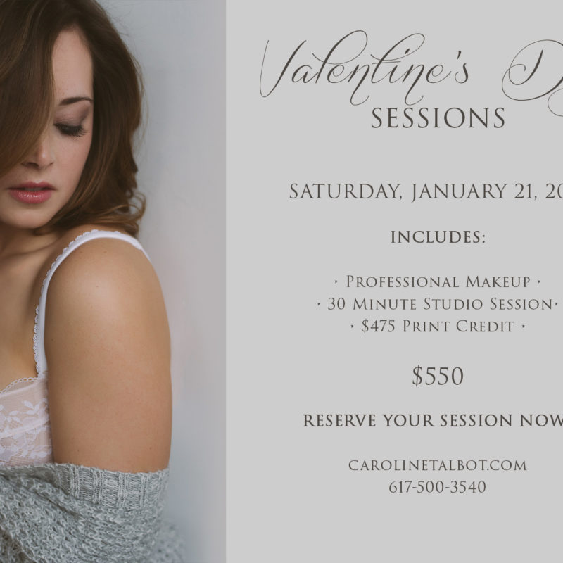 Valentine's Day Sessions!